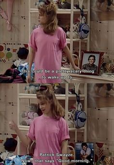 full house :) back when shows weren't full of sex and drugs, but full of humor and life lessons