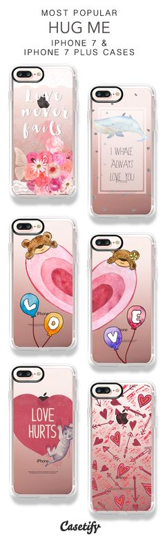Most Popular Hug Me iPhone 7 Cases & iPhone 7 Plus Cases here > https://www.casetify.com/collections/valentines#/