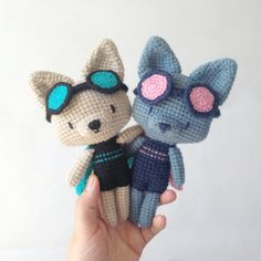 Charlotte le super chat au crochet / amigurumi chat / knitting
