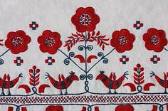 Folk art of the Matyó, embroidery of a traditional community - intangible heritage - Culture Sector - UNESCO Hungarian Embroidery, Floral Design, Graphic Design, Folk Fashion, Textile Patterns, Pattern Art, Folklore, Vintage Christmas, Needlework
