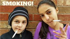 Bad Kids Smoking Cigarettes Prank Mommy Freaks Out Family Fun Video Hzht...