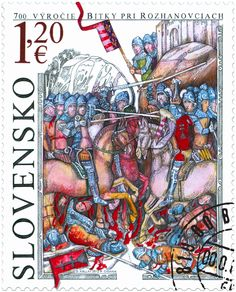 700th Anniversary of the Battle of Rozhanovce, Slovakia