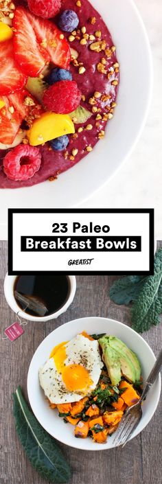 Our (grain-free) bowls runneth over. #paleo #breakfast #bowls https://greatist.com/eat/paleo-breakfast-recipes-to-eat-by-the-bowlful