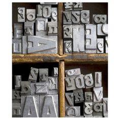 CARA SAVEN | Letter Blocks Stretched Canvas - Homeware - 5rooms.com