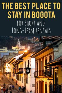 The Best Place to Stay in Bogota Colombia for Short and Long-Term Rentals  Colombia. Colombia TravelBogota ColombiaTravel ReportTravel ... 20b4512c4a014
