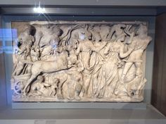 Sarcophagus Panel Depicting the Abduction of Persephone