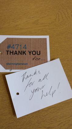 Thank you! #4714UoB