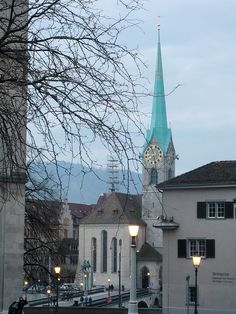 Zürich - one of my firsts, and I fell in love