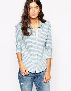 Splendid Indigo Stripe Shirt