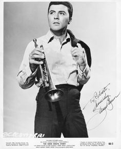 James Darren as 'Eddie Sirota' in The Gene Krupa Story Iconic Movies, Old Movies, Hooray For Hollywood, Old Hollywood, James Darren, Frankie Avalon, Ricky Nelson, Sandra Dee, First Crush