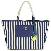 nice Nica LUKA women's Shopper bag in MARINE / White Check more at http://arropa.net/uk/accessories/product/nica-luka-womens-shopper-bag-in-marine-white/