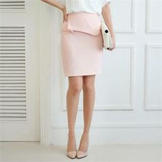 Buy 'Styleberry – Peplum Pencil Skirt' with Free International Shipping at YesStyle.com. Browse and shop for thousands of Asian fashion items from South Korea and more!
