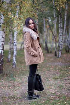 t e e t h a r e j a d e - outfit: furry coat & biker boots