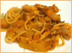 Spaghetti and Eggplant
