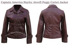 Captain America Hayley Atwell Jacket is available only at DesertLeather Store. Best Collection of Peggy Carter Jacket are available. Buy now and get free Gift.  #CaptainAmerica #Movie #HayleyAtwell #Sexy #Hot #WinterSale #WinterShopping ##WinterCostume #Celebrity #Fashion #Cosplay #geektyrant #geek #sale #Shopping #Onlineclothingstore #Womensfashion #womenoutfit