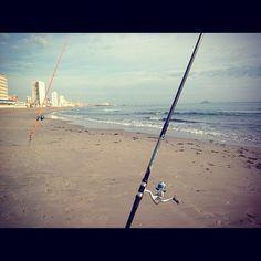 Playa entremares #beach día soleado y agua estupenda #intagram #beautiful #belleza Spain #sellodecalidad