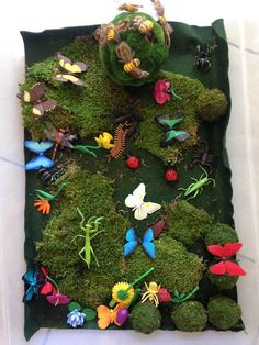 Bugs Life sensory tub is a wonderfully playful preparation for all the insects of the summer season.