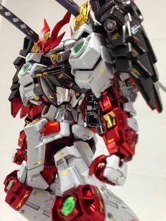 "Custom Build: MG 1/100 Sengoku Astray Gundam ""Detailed"" - Gundam Kits Collection…"