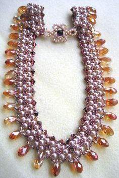 Beautiful pattern by Regina Atkins beaded by Sharon A Kyser