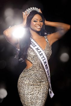 I had the pleasure of competing with her at Miss Maryland USA 2012 and I know she is going to kill it at Miss USA!  She tried many times to get to Miss USA and never gave up.  She finally made it her last year of eligibility!