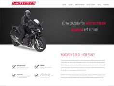 Tvorba web stránky Matashi.sk