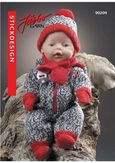 90209 Knitting Dolls Clothes, Crochet Baby Clothes, Doll Clothes Patterns, Doll Patterns, Baby Born Clothes, Pet Clothes, Knitting For Kids, Baby Knitting Patterns, Baby Barn