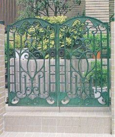 20 Best Fancy Fencing Amp Gates Interesting Iron Scroll