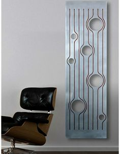 Functional decor - It's actually a Modern radiator Decorative Radiators, Modern Radiators, Wall Art Designs, Cool Designs, Vertical Radiators, Design Salon, Designer Radiator, Radiator Cover, Affordable Furniture