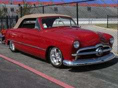 49 Ford Convertible