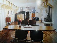 ღღ Awesome houseboat interior