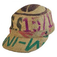Hills Hats of New Zealand Havana Coffee Works Gulf Cadet Cap  villagehatshop  Coffee Works 958f4405fc9f
