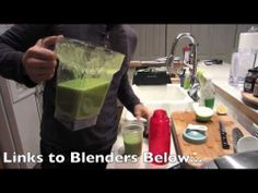 Green Juice or Smoothie Recipe 2- BenjiManTV - http://veggiejuicerecipes.net/veggie-juice-recipes/green-juice-or-smoothie-recipe-2-benjimantv/ |  Green Juice or Smoothie Recipe 2- BenjiManTV BLENDER LINKS: Blendtec Home HP3A FourSide Blender: http://amzn.to/119338J Oster BVCB07-Z Counterforms 6-Cup Gla…