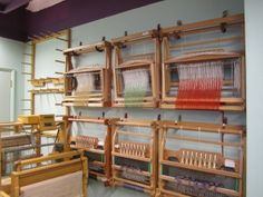 the table looms I teach on