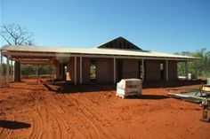 A rammed earth house in Derby