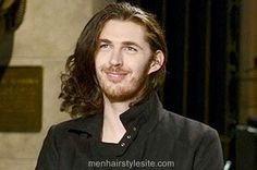 #hozier Hozier Hairstyle Long Hair Combed Side #menshair