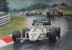 1983 Belgian Grand Prix qualifying