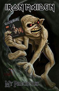 Hard Rock, Iron Maiden Posters, Iron Maiden Albums, Eddie The Head, Woodstock, Rock Poster, Estilo Rock, Tribute, Music Album Covers