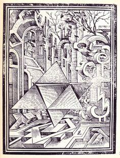 Des dessins et paysages géométriques en 1567 dessin paysage geometrique lorz 04 610x800