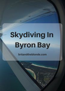 Skydiving In Byron B