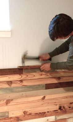 How to: Reclaimed wood wall