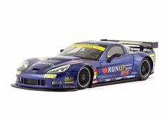 "Slot cars, NSR Corvette C6R GT, 1150AW, Super GT 2012 series #360 ""blue"""