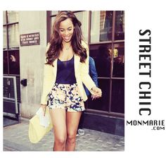 Street Chic Floral Shorts Available at www.monmarie.com 7320 Greenleaf Ave Whitier CA 90602