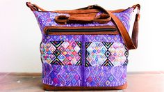heritage weekender | violeta from the trävely collective. 100% handmade in Guatemala. www.thetravelycollective.com