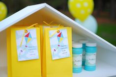 """Photo 23 of 30: Kite Themed Party / Birthday """"Fly High - Kite Birthday Party""""   Catch My Party Birthday Favors, 2nd Birthday Parties, 4th Birthday, Birthday Ideas, Kite Party, Fete Ideas, Party Photos, Summer Party Themes, Party Planning"""
