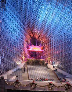 Crystal Cathedral -- Garden Grove, CA.