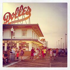 Boardwalk Rehoboth Beach Delaware Summer Vacation Shore IMG_9138