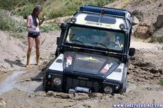 Land Rovers and Girls
