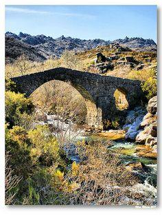 CASTRO LABOREIRO (Melgaço/Portugal): Ponte Nova ou da Cava da Velha.