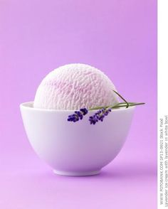 Lavender ice cream - once I master vanilla, this is next.