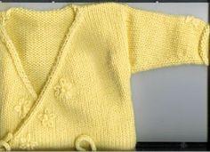 Marzipanknits: Very Beginner Level Machine Knit Baby Ballet Sweater